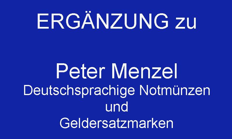 Menzel-ERGÄNZUNG